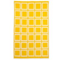 Fab Habitat Sunny 2-Foot x 3-Foot Accent Rug in Mimosa/Bright White