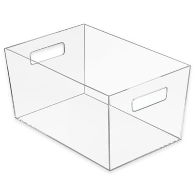 Buy Clear Plastic Bins From Bed Bath Amp Beyond