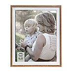 Prinz 8-Inch x 10-Inch 2-Tone Wood Frame in Natural/White