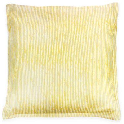 kas room logan european pillow sham in yellow