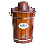 Nostalgia™ 6-Quart Wooden Bucket Ice Cream Maker
