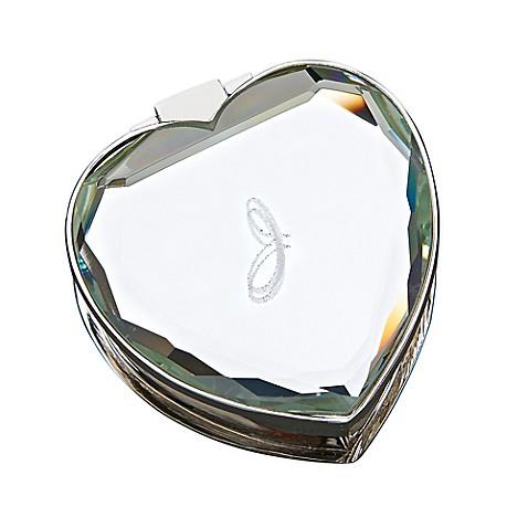 MyDzyne Mirrored Heart Keepsake Box