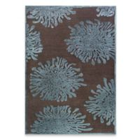 Surya Basilica Passau 5-Foot 2-Inch x 7-Foot 6-Inch Area Rug in Chocolate