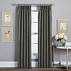 Spellbound Pinch-Pleat 108-Inch Rod Pocket Lined Window Curtain Panel in Pewter