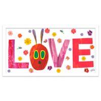 Eric Carle Flowery Love Wall Art