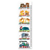 Eric Carle Animals Growth Chart Canvas Wall Art