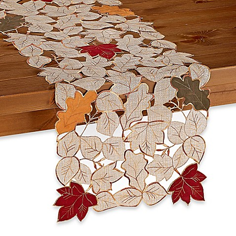 Fall Foliage Table Runner Bed Bath Amp Beyond