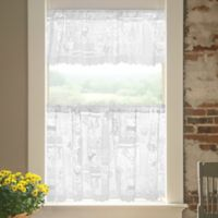 Woodland Patch Window Valance in White