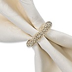 Garland Napkin Ring in Silver