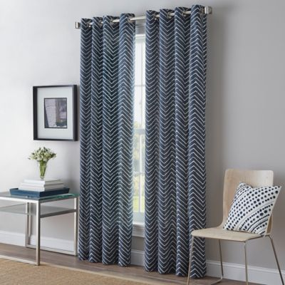 Curtains Ideas bed bath and beyond drapes and curtains : Buy Indigo Window Treatments from Bed Bath & Beyond