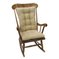 Klear Vu Twillo Universal Extra-Large 2-Piece Rocking Chair Pad Set in Stone