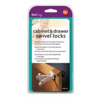 Kidco 12-Pack Swivel Cabinet and Drawer Locks in White