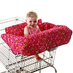The Clean Shopper® Flower Power Shopping Cart Seat Cover by Babe Ease