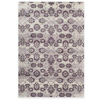 rugs america carmen floral damask 5foot 3inch x 7foot 10