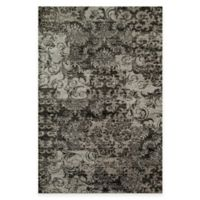 Rugs America Hudson Patch 2-Foot 3-Inch x 7-Foot 10-Inch Runner in Grey