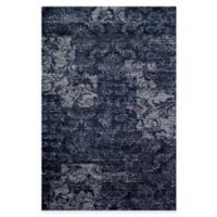 Rugs America Hudson Patch 7-Foot 10-Inch x 10-Foot 10-Inch Area Rug in Blue