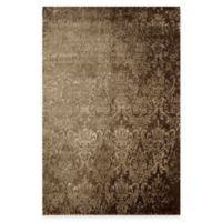 Rugs America Hudson Damask 7-Foot 10-Inch x 10-Foot 10-Inch Area Rug in Tan