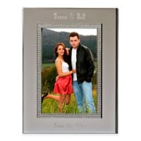 Glitter Galore 5-Inch x 7-Inch Picture Frame