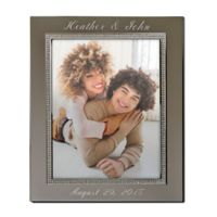 Glitter Galore 8-Inch x 10-Inch Picture Frame