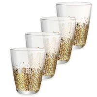 Artland® Ambrosia Double Old Fashioned Glasses in Gold (Set of 4)