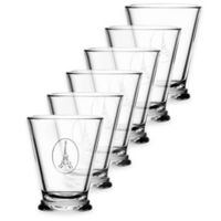 La Rochere Eiffel Tower Icon Tumblers (Set of 6)