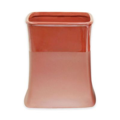Jessica Simpson Kensley Wastebasket in Coral. Buy Contemporary Bathroom Wastebaskets from Bed Bath  amp  Beyond