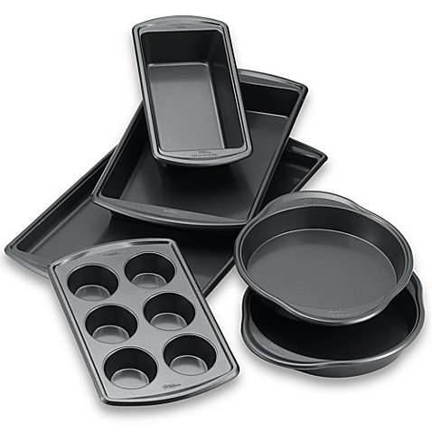 Wilton Indulgence 174 Professional 6 Piece Bakeware Set Bed