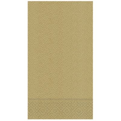Sienna 15-Count Pebbled Paper Guest Towels in Gold