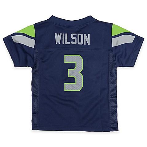 Nfl Seattle Seahawks Russell Wilson Jersey In Blue Bed