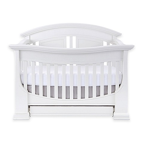 baby appleseed chelmsford 4 in 1 convertible crib in pure white buybuy baby. Black Bedroom Furniture Sets. Home Design Ideas