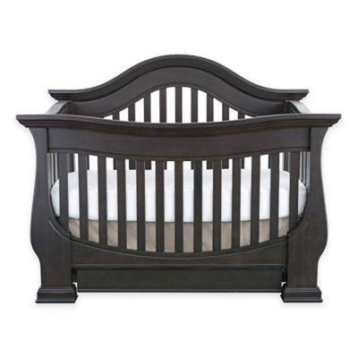 Baby AppleseedR Davenport 4 In 1 Convertible Crib In Slate