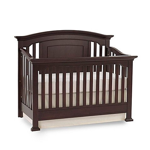 Kingsley Brunswick 4-in-1 Convertible Crib in Espresso