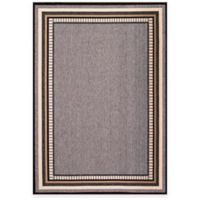 Jaipur Matted 2-Foot 3-Inch x 7-Foot Indoor/Outdoor Runner in Grey/Taupe