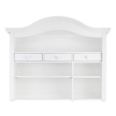 Baby Appleseed® Millbury Nursery Furniture Collection In Pure White U003e Baby  Appleseed® Davenport Hutch