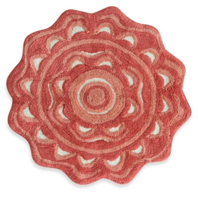 buy coral bath rug from bed bath & beyond