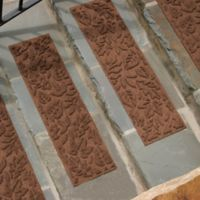 Weather Guard™ Fall Day Stair Treads in Dark Brown (Set of 2)