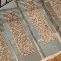 Weather Guard™ Fall Day Stair Treads in Camel (Set of 2)
