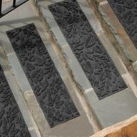 Weather Guard™ Fall Day Stair Treads in Charcoal (Set of 2)