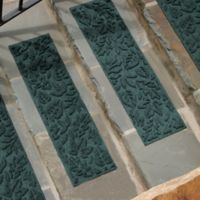 Weather Guard™ Fall Day Stair Treads in Evergreen (Set of 2)