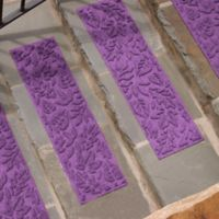 Weather Guard™ Fall Day Stair Treads in Purple (Set of 2)
