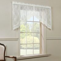 Commonwealth Home Fashions Mona Lisa Swag Valance in Shell
