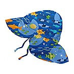 i play.® Size 0-6M Fish Flap Sun Hat in Royal