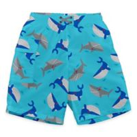 i play.® Size 18M Sealife Ultimate Swim Diaper Pocket Trunks in Aqua