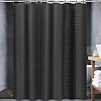 Avalon 70-Inch x 72-Inch Shower Curtain in Black