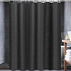 Buy avalon 36 inch x 45 inch bath window curtain pair in black from bed bath beyond for 36 inch bathroom window curtains