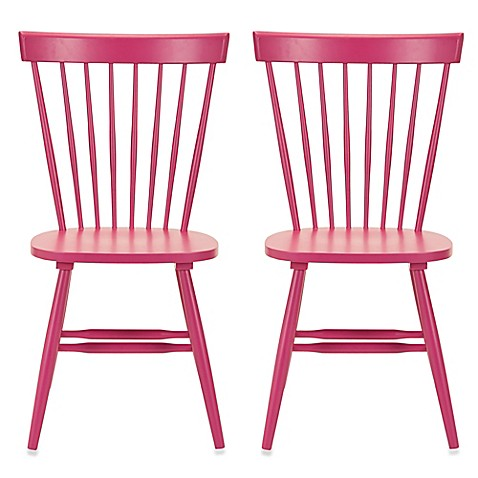 image of Safavieh Parker Spindle Side Chairs (Set of 2)