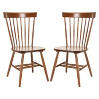 Safavieh Parker Spindle Side Chairs in Natural (Set of 2)