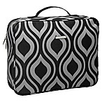 WallyBags® Travel Organizer in Black/Grey