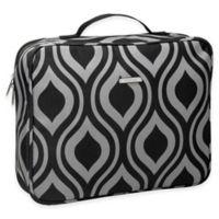 WallyBags® Travel Organizer in Black/Grey