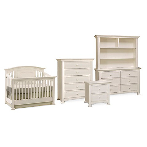 Kingsley Brunswick Nursery Furniture Collection In White